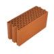 Porotherm 20 N+F tégla 20 cm vastag válaszfal építésére alkalmas nútféderes falazóelem.
