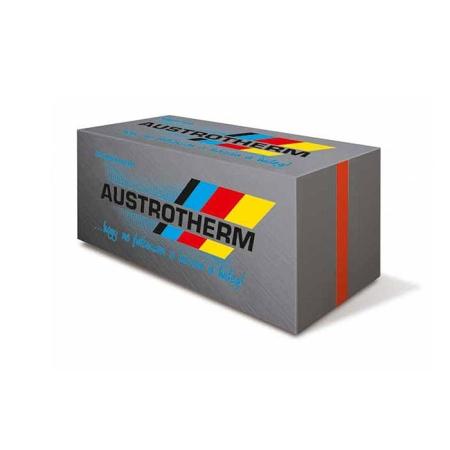Az AUSTROTHERM GRAFIT® olyan szürke színű expandált polisztirol hőszigetelő lemez, amely különleges alapanyagának köszönhetően lényegesen alacsonyabb hővezetési tényezővel rendelkezik, mint a fehér színű változat. Alkalmazásával hatékonyabb hőszigetelés érhető el.
