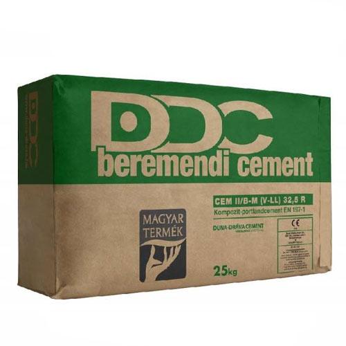Cement, ömlesztett áruk
