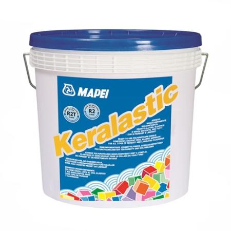 Keralastic Fokozott terhelhetőségű, két komponensű poliuretán ragasztó kerámia burkolólapokhoz és kőlapokhoz.