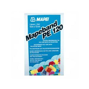 Mapeband - Lúgálló gumírozott szövet cementkötésű és kenhető diszperziós vízszigetelő rendszerek hajlaterősítésére.