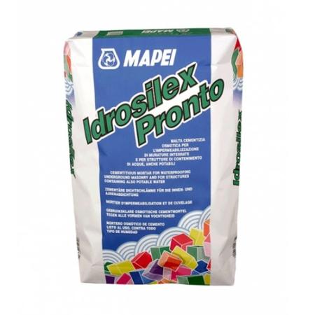 Mapei Idrosilex - Cementkötésű habarcsok vízzáró adalékszere.