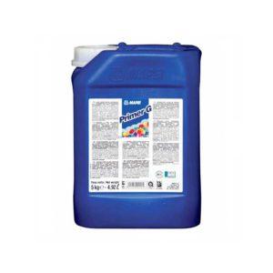 Mapei PrimerG - Alkalmazási terület: Gipsz vagy anhidrid felületek kezelése cementtartalmú termékek felhordása előtt. A kezelendő felület legyen tiszta és nedvszívó. A Primer G-t hígítsa vízzel 1:1-től 1:3-ig arányban régi porózus padlók védelmére az aljzatkiegyenlítés előtt, a pormaradványok fixálására és az aljzat nedvszívó képességének egyenletessé tételére