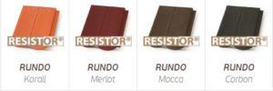 Rundo tetőcserepünkkel megteremtettük a modern kor igényeinek és a hagyomány hangulatának harmóniáját.